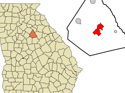 Location In Morgan County And The State Of Georgia