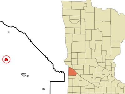 Location Of Madison Minnesota