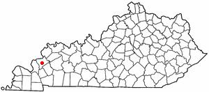 Location Of Marion Kentucky