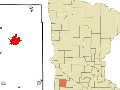Location Of Marshall Minnesota