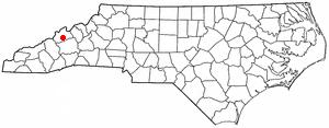 Location Of Marshall North Carolina