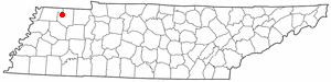 Location Of Martin Tennessee