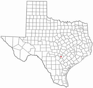 Location Of Mcqueeney Texas