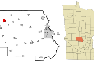 Location Of Melrose Minnesota