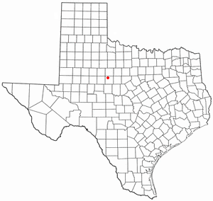 Location Of Merkel Texas
