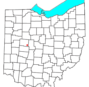 Location Of Middleburg Ohio