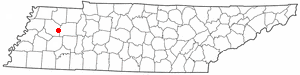 Location Of Milan Tennessee