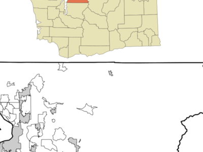 Location Of Mill Creek Washington