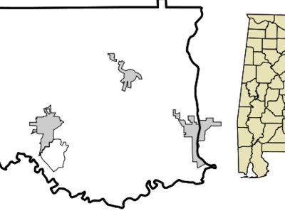 Location In Elmore County And The State Of Alabama