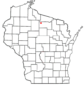 Location Of Minocqua Wisconsin