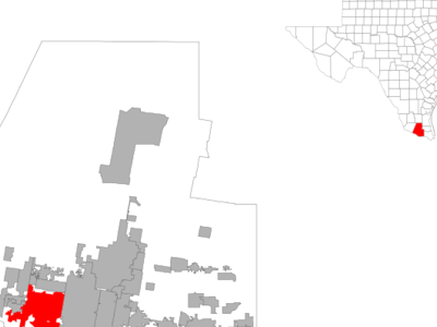 Location Of Mission Texas