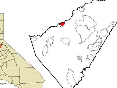 Location In Calaveras County And The State Of California