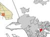 Location Of Montebello In Los Angeles County California