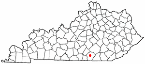 Location Of Monticello Kentucky
