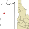 Location In Bear Lake County And The State Of Idaho