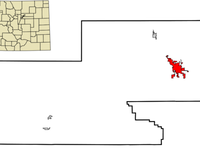 Location In Montrose County And The State Of Colorado