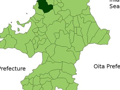 Location Of Munakata In Fukuoka