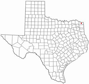 Location Of New Boston Texas