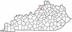 Location Of New Castle Kentucky