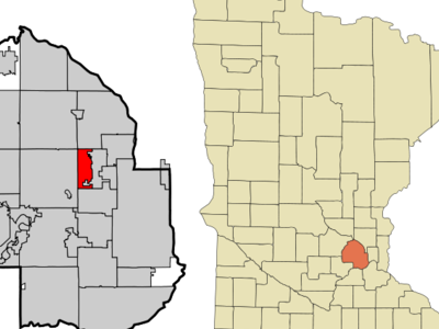 Location In Hennepin County Minnesota