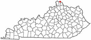Location Of Newport Kentucky