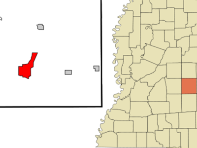 Location Of Newton Mississippi