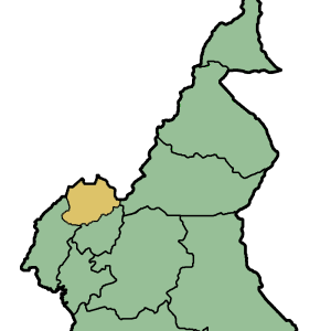 Location Of Northwest Region Within Cameroon
