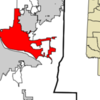 Location Of North Little Rock In Arkansas