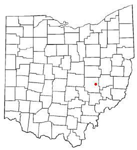 Location Of Norwich Ohio