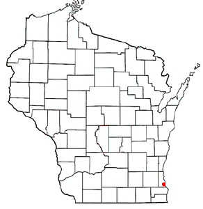 Location Of Oak Creek Wisconsin