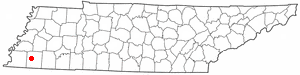 Location Of Oakland Tennessee