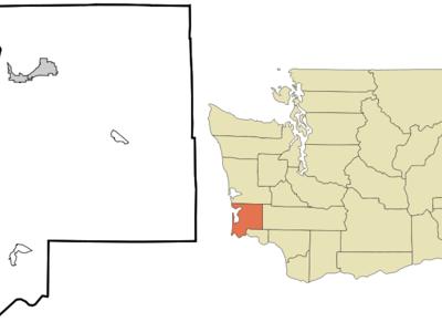 Location Of Ocean Park Washington