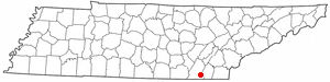 Location Of Ooltewah Tennessee
