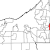 Location Of Orange In Cuyahoga County