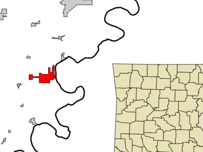Location In Mississippi County And The State Of Arkansas