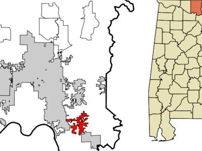 Location In Madison County And The State Of Alabama