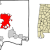 Location In Dale County And The State Of Alabama
