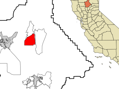 Location In Butte County