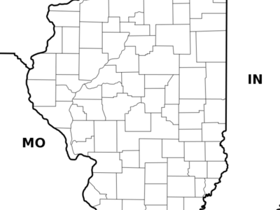 Location Of Paxton Within Illinois