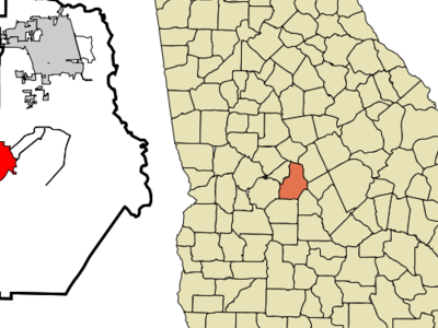 Location In Houston County And The State Of Georgia