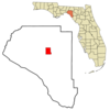 Location In Taylor County And The State Of Florida