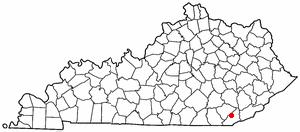 Location Of Pineville Kentucky
