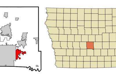 Location Of Pleasant Hill Iowa