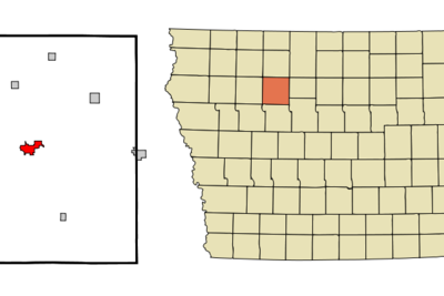 Location Of Pocahontas Iowa
