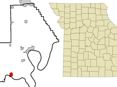 Location Of Portageville Missouri