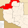 Location Of Porto Velho In The State Of Rondnia