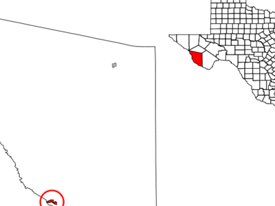 Location Of Presidio Texas