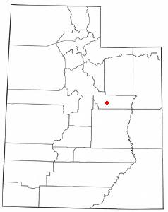 Location Of Price Utah