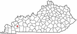 Location Of Princeton Kentucky