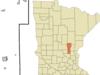 Location Of Princeton Minnesota